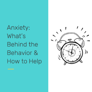 Anxiety - reclaiming our students