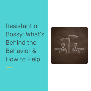 Resistant or Bossy - reclaiming our students