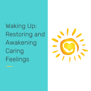 Restoring awakening caring feelings - reclaiming our students